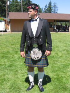 This is the US Marine Corps Kilt tartan.