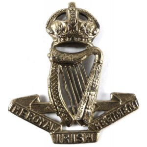 An Irish Cap Badge adds authenticity to your Irish Kilt