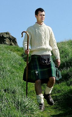 The Irish casual kilt is excellent for sporting events