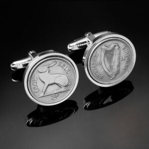 Irish kilt accessories benefit from Irish cufflinks.