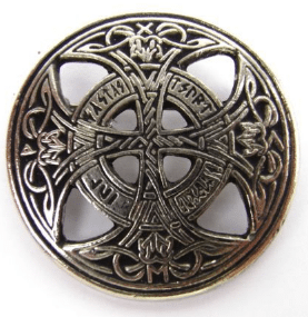 This is a kilt pin brooch