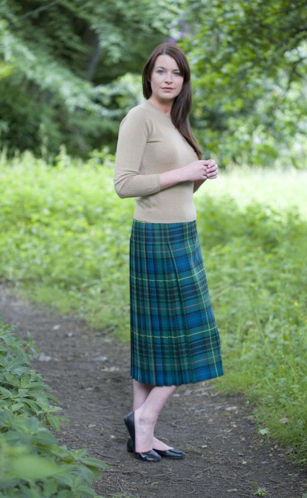 The Kilt Skirt is the most popular womens kilt.