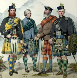 Scottish Kilts date back to the 16th century