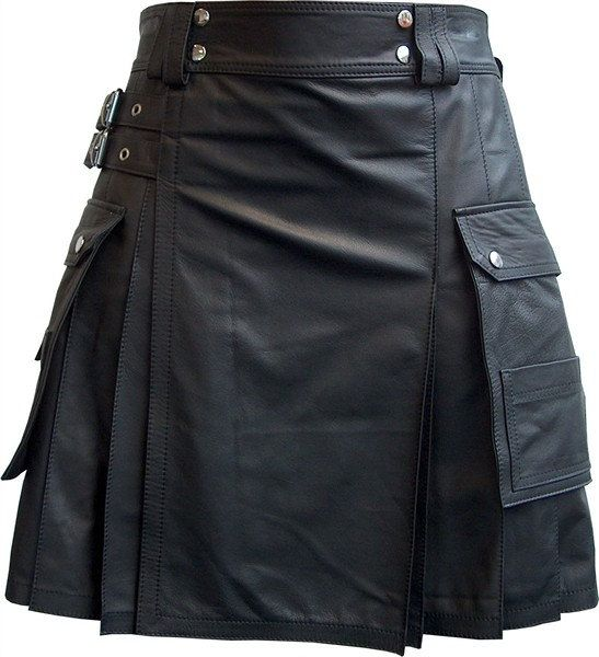This is the best leather utility kilt for sale.