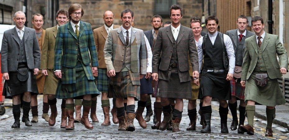 "Modern kilts tend to be worn more than ""Great Kilts"""