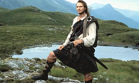 The Scottish Kilt started off as the Great Kilt