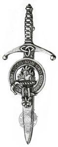 Scottish kilt pins are the most popular.