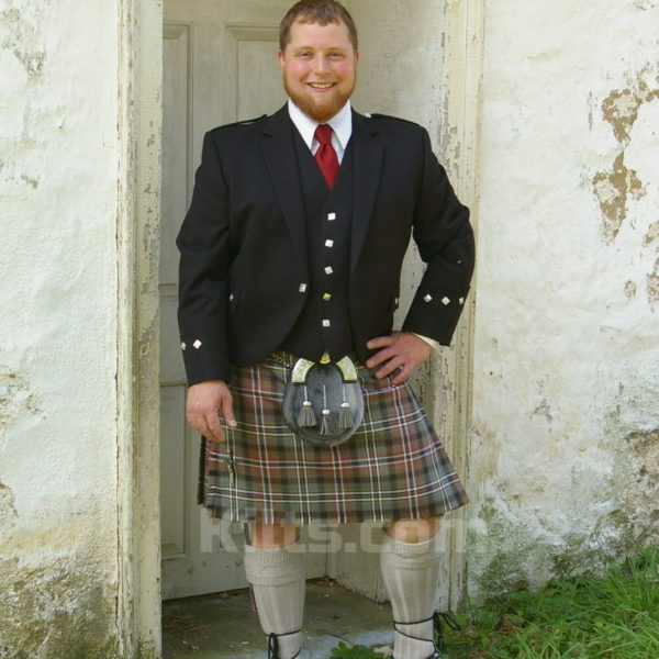 Kilts are typically worn with a sporran