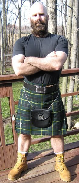 This is the US Army Kilt tartan, and is the most popular military kilt.