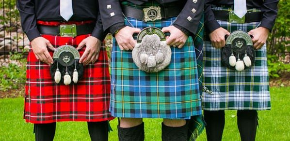 We have a range of custom made kilts for sale.