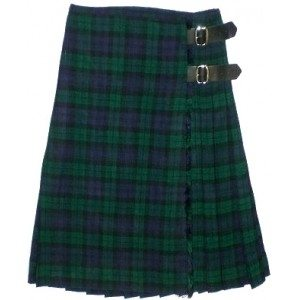 The Black Watch tartan kilt is ideal for formal occasions.