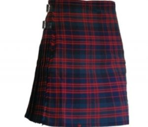 The Macdonald tartan kilt is one of our best sellers.