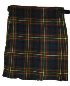 The Maclaren tartan kilt is a vibrant yet stylish kilt.