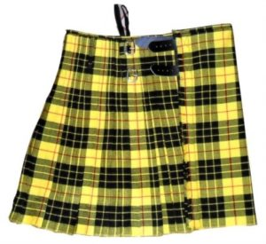 This is our vibrant Macleod of Lewis tartan kilt.