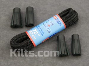Here are our Ghillie Brogue Laces and Kilt Shoe Laces.