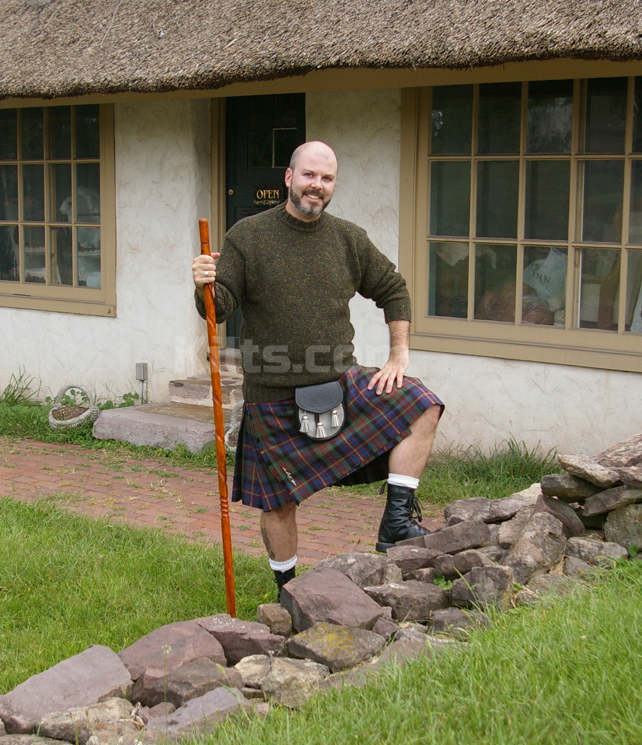 Check out our Scottish 5 Yard Kilt for sale.