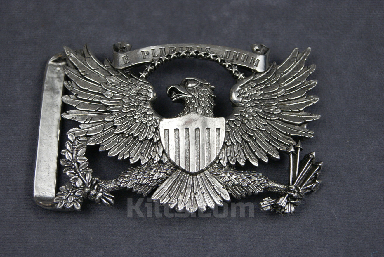 View our unique American Eagle Kilt Belt Buckle for sale.