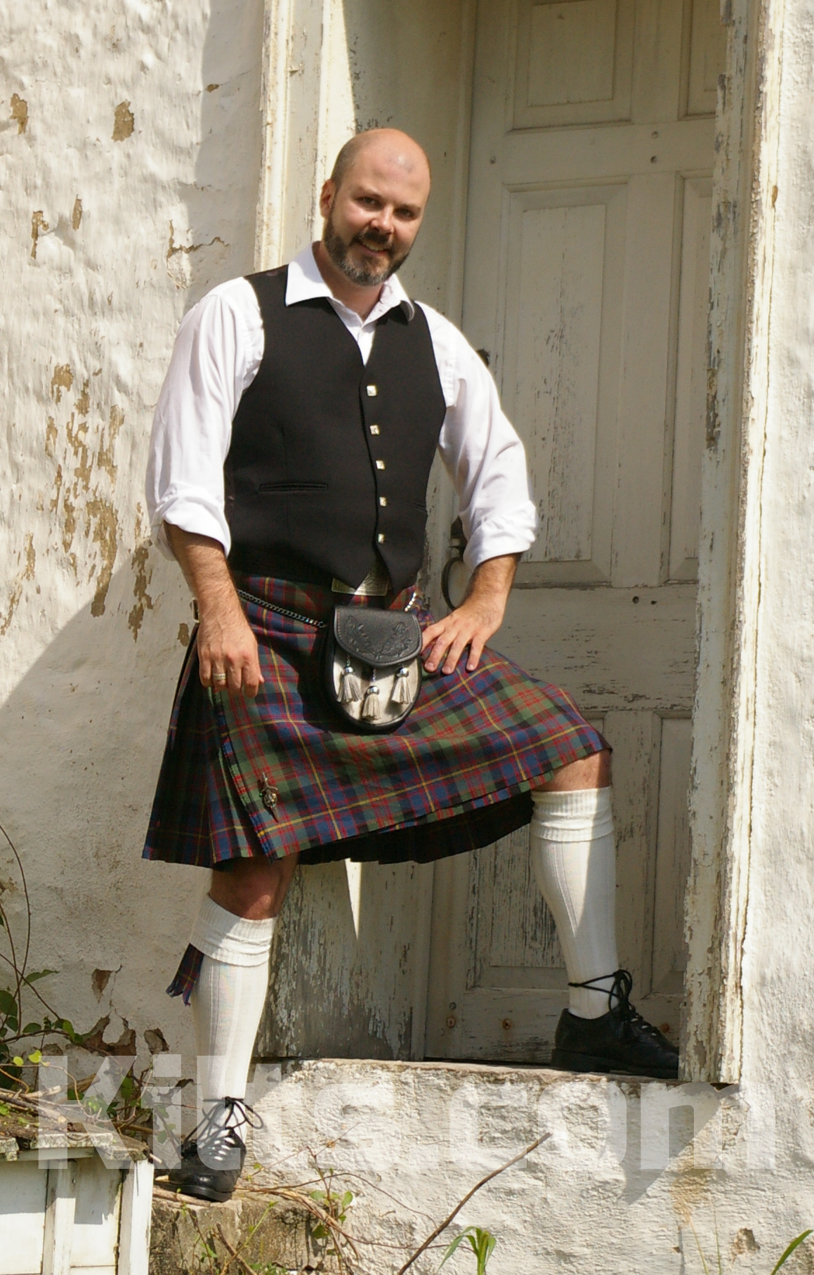 Need an Argyll Vest for your Kilt Outfit?