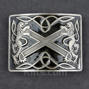 Have a look at our Black Highland Saltire Kilt Belt Buckle for sale.