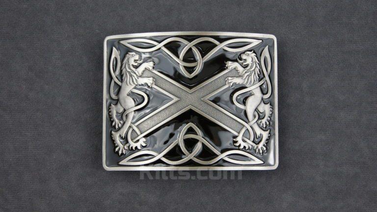 Have a look at our Black Highland Saltire Kilt Belt Buckle for sale.