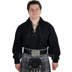 View our Black Highland Shirt for Kilts for sale.