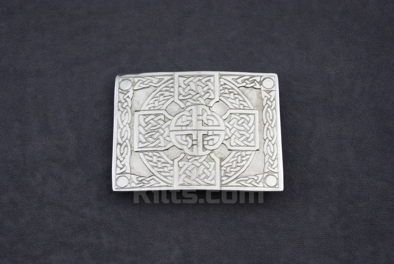 Here is our Celtic Cross Kilt Belt Buckle for sale.