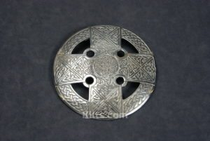 Check out our Celtic Cross Plaid Brooch. for Fly Plaids and Sashs.