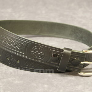 "Here is our Celtic Knot 1.5"" Kilt Belt for kilts."