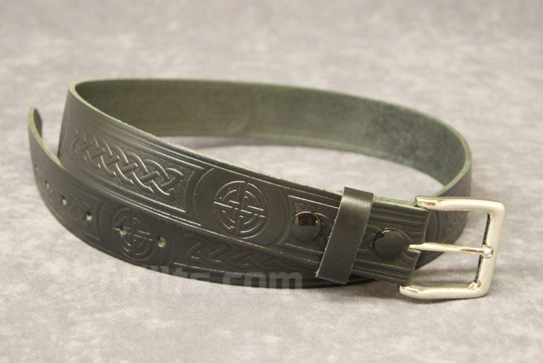 "Here is our Celtic Knot 1.5"" Kilt Belt for kilts."