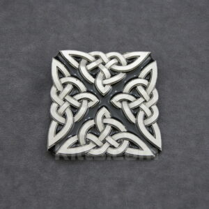 Here is our unique and stylish Celtic Knot X Belt Buckle for sale.