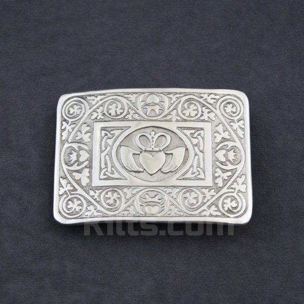 Check our our Claddagh Kilt Belt Buckle for sale.