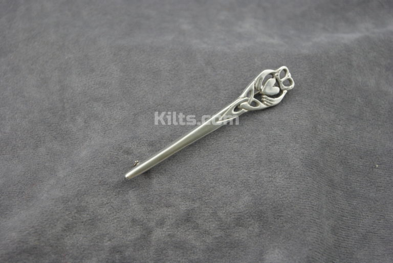 Check out our Irish Claddagh Kilt Pin.