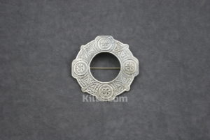 Check out our Classic Plaid Brooch.