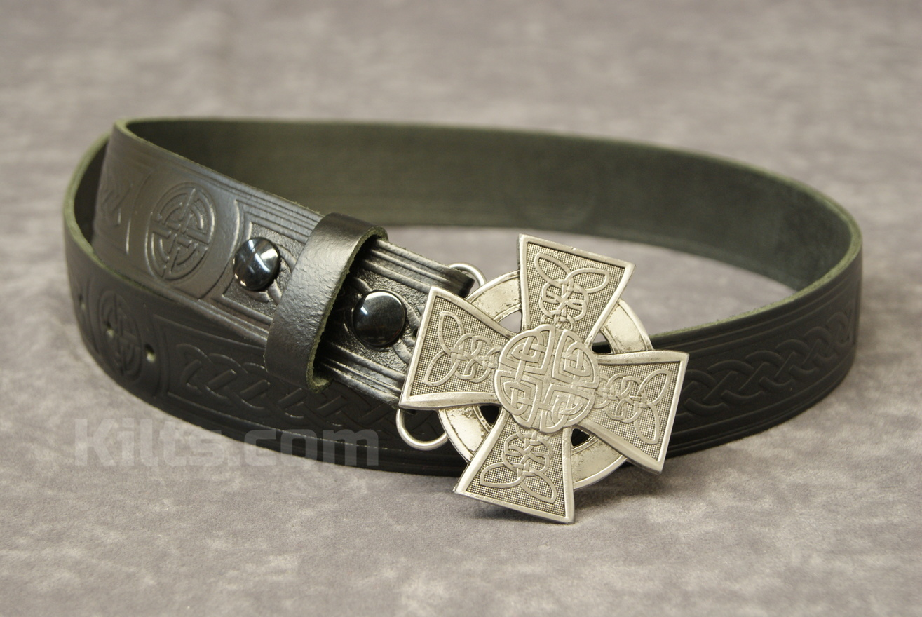 "Check out our Closed Cross buckle and 1.5"" Belt Combo"