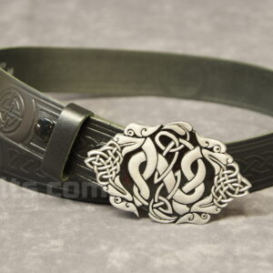 "Here is our stylish Dragon Head Buckle and 1.5"" Belt Combo for sale."
