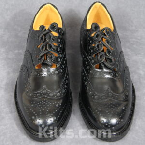 Our Endrick Ghillie Brogues look fantastic with white kilt hose.
