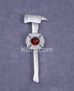 Here is our Firefighter Kilt Pin.