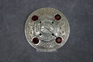 Check out our Firefighters Plaid Brooch.