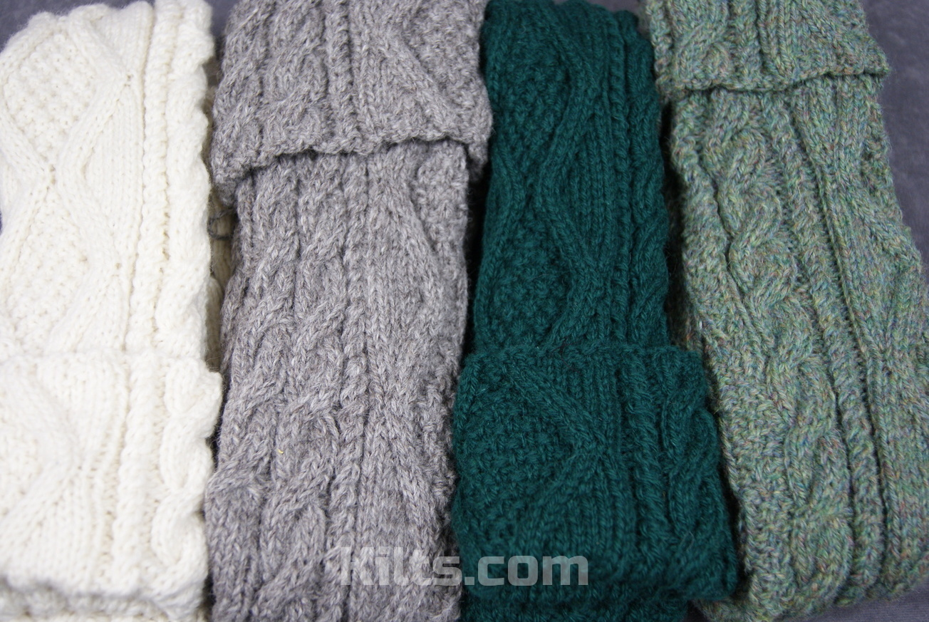 Check out our range of hand knit hose for kilts.