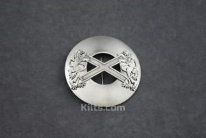 Here is our Scottish Highland Saltire Plaid Brooch for Fly Plaids and Sashes.