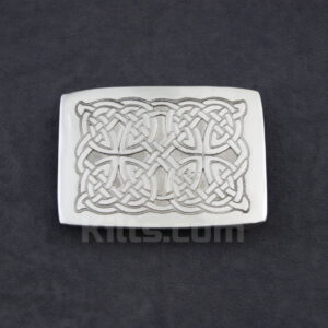 Have a look at our Interlaced Knot Work Kilt Belt Buckle for sale.