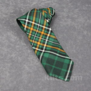 Our Ireland National Tartan Tie for sale is the best kilt tie for Irish people.