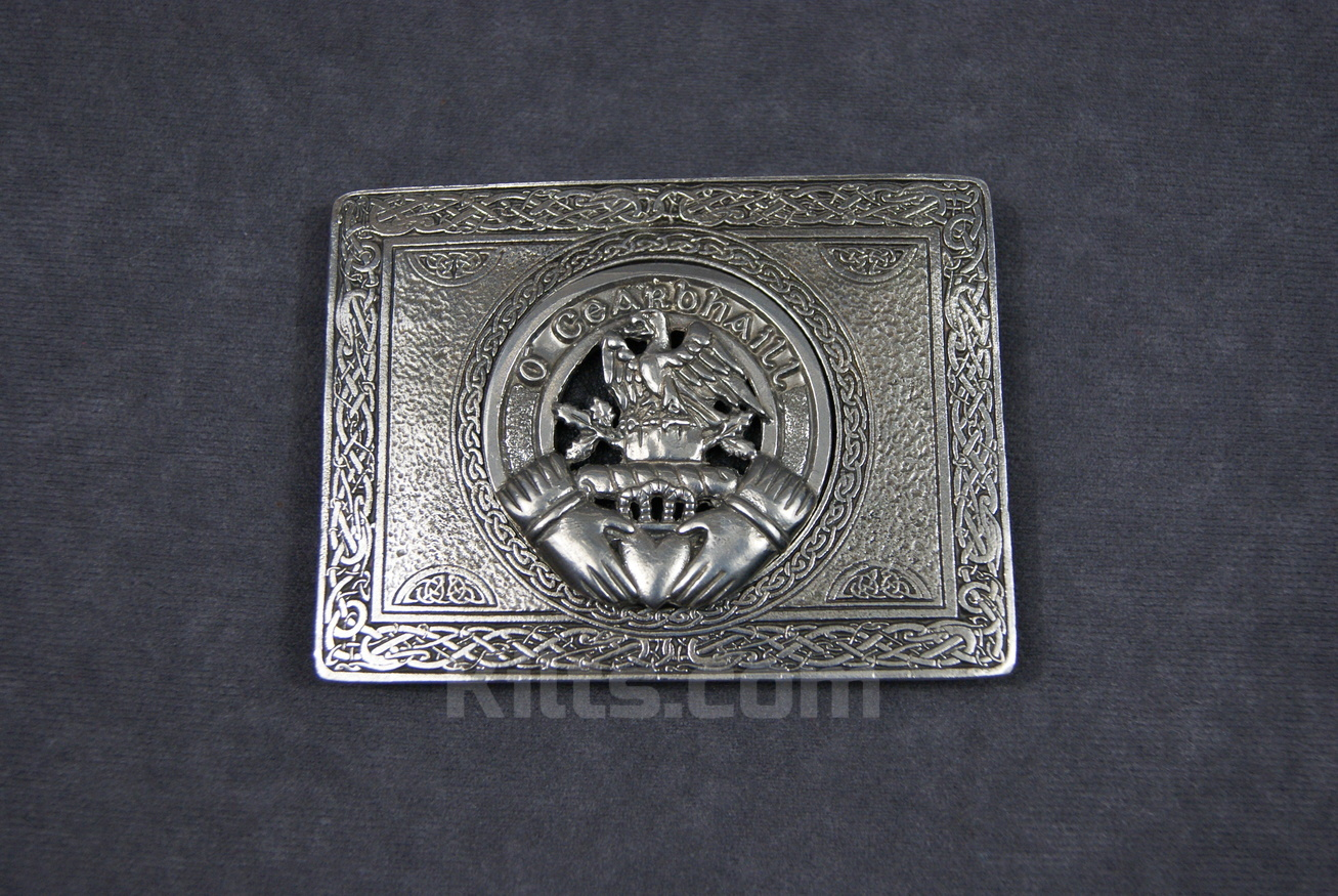 Check out our Irish Clan Crest Kilt Belt Buckle for sale.