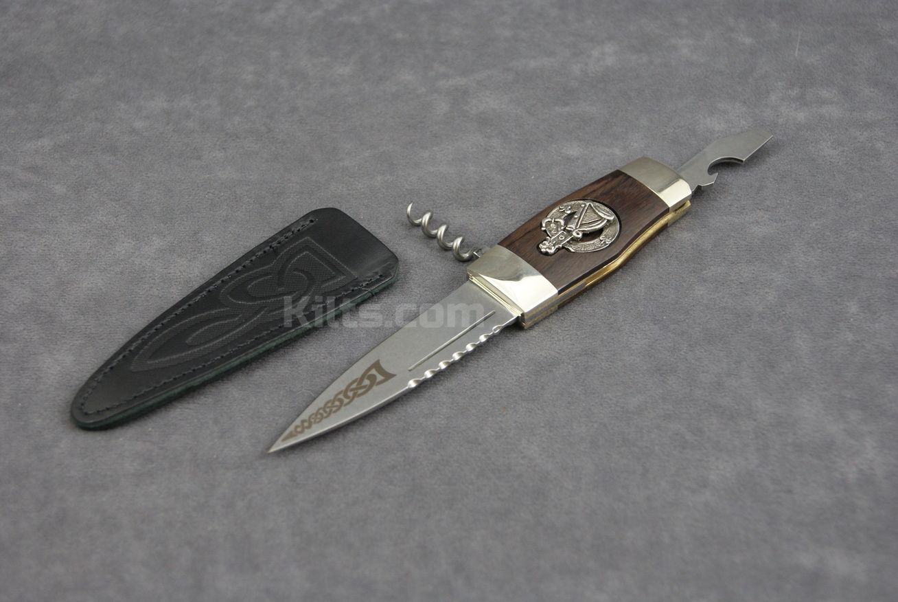 Check out our Irish Clan Crest Officer's Sgian Dubh for sale.
