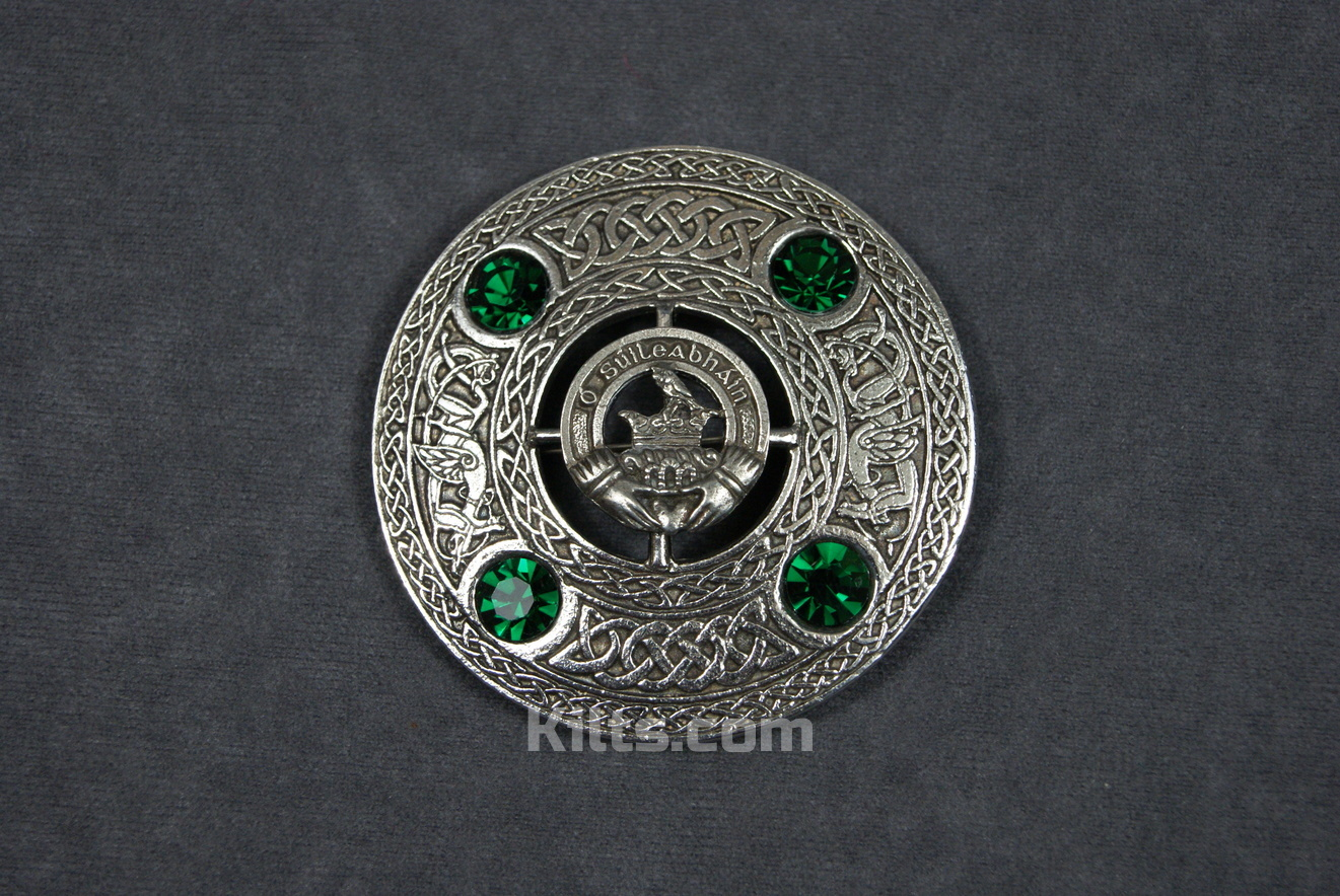 Check out our Irish Clan Crest Plaid Brooch for Fly Plaids and Sashs.