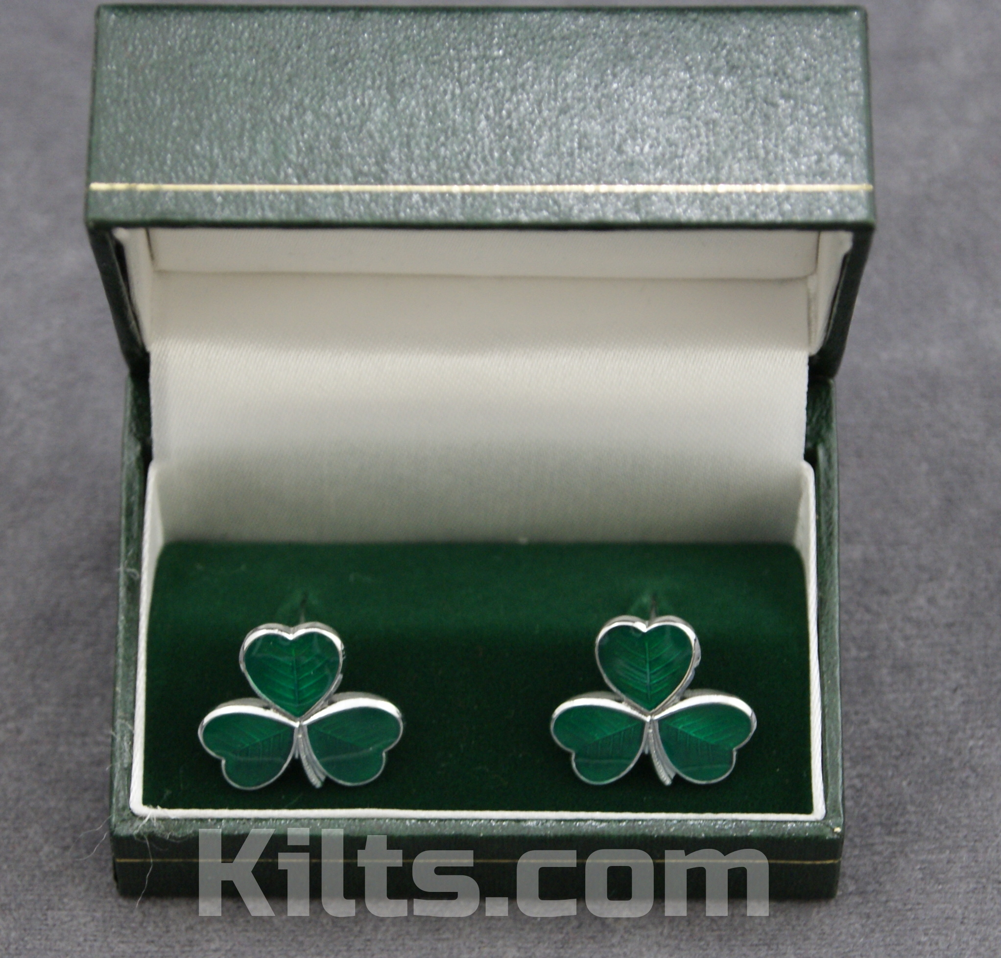 Check out our Irish Shamrock Cuff Links. If you are looking for Irish Cuff Links, you'll love these!
