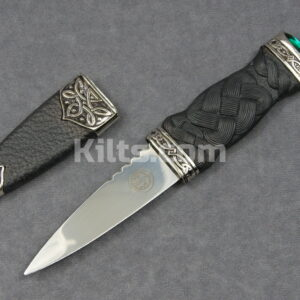 Check out our Jewel Sgian Dubh. The perfect jewel kilt knife.