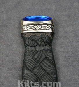 Looking for a Sapphire Sgian Dubh or Sapphire Kilt Knife?