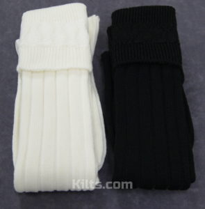Check out our Kilt Hose. If you need Kilt Socks, these are the socks for you.