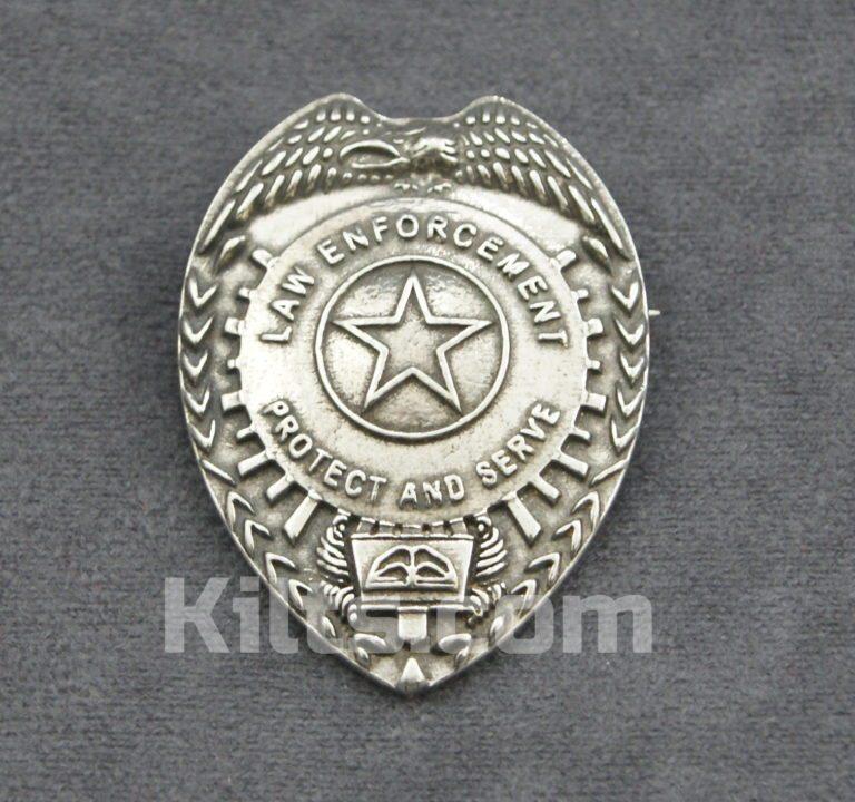 Check out our Law Enforcement Cap Badge for Sale.